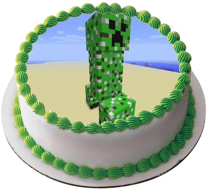 крипер фото торт