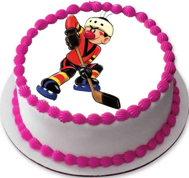 Новогодние, открытки на день рождения мальчику хоккеисту